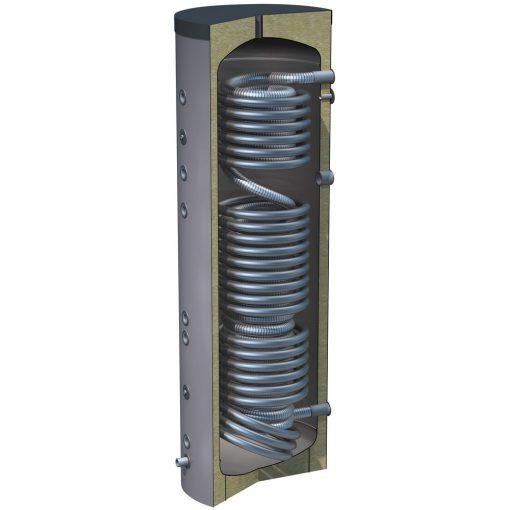 hygiëneboiler 300 liter met 3 buiswarmtewisselaars