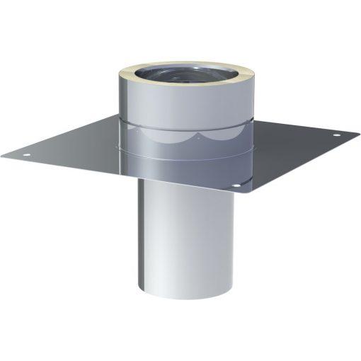 Basisplaat RVS voor schoorsteenverhoging