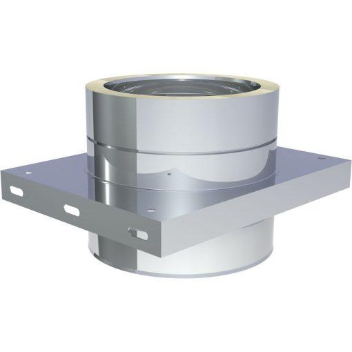 Basisplaat RVS Ø 180 mm voor tussensteunen