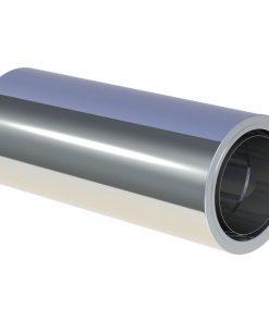 Lengte element Ø150 mm 500 mm met wandisolatie
