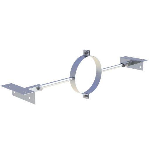 Sparrenhouder verstelbaar 500-900 mm Ø 150 mm
