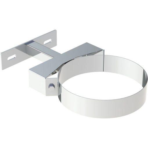 Wand- en plafondafstandhouder RVS Ø 180 mm verstelbaar 50-150 mm