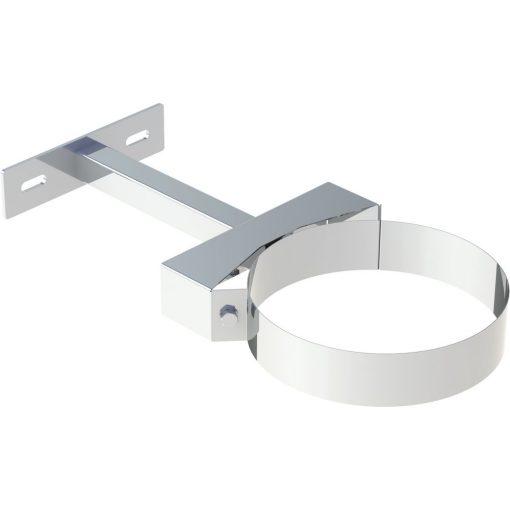 Wand- en plafondafstandhouder RVS Ø 180 mm verstelbaar 50-250 mm