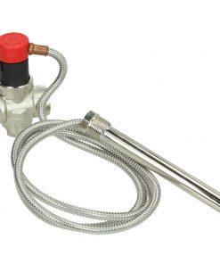 """Thermische afvoerbeveiliging 3/4"""" met 1,3 meter capillaire buis"""