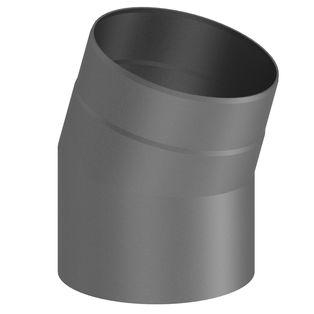 Kachelpijp grijs gietijzer 30° uitvoering