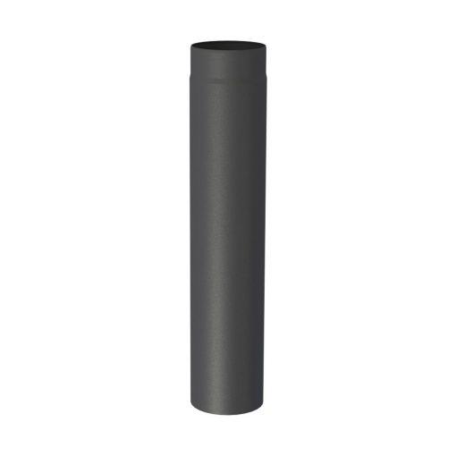 Kachelpijp zwart 750 mm uitvoering
