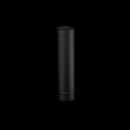 Pelletkachel rookkanaal RVS zwart 500mm pijp