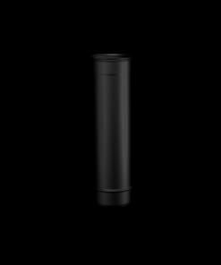 Pelletkachel rookkanaal zwart RVS 250mm pijp