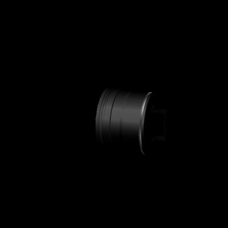 Pelletkachel rookkanaal zwart RVS premium line, condensdop gesloten